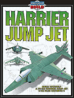 Harrier Jump Jet (Press-out and Build), , Very Good Book