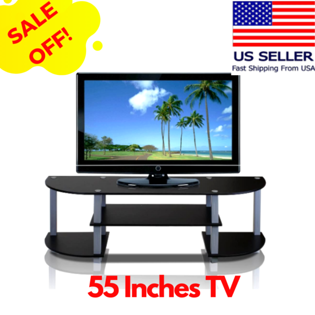 Altra Galaxy 50 Tv Stand With Mount Black For Sale Online Ebay