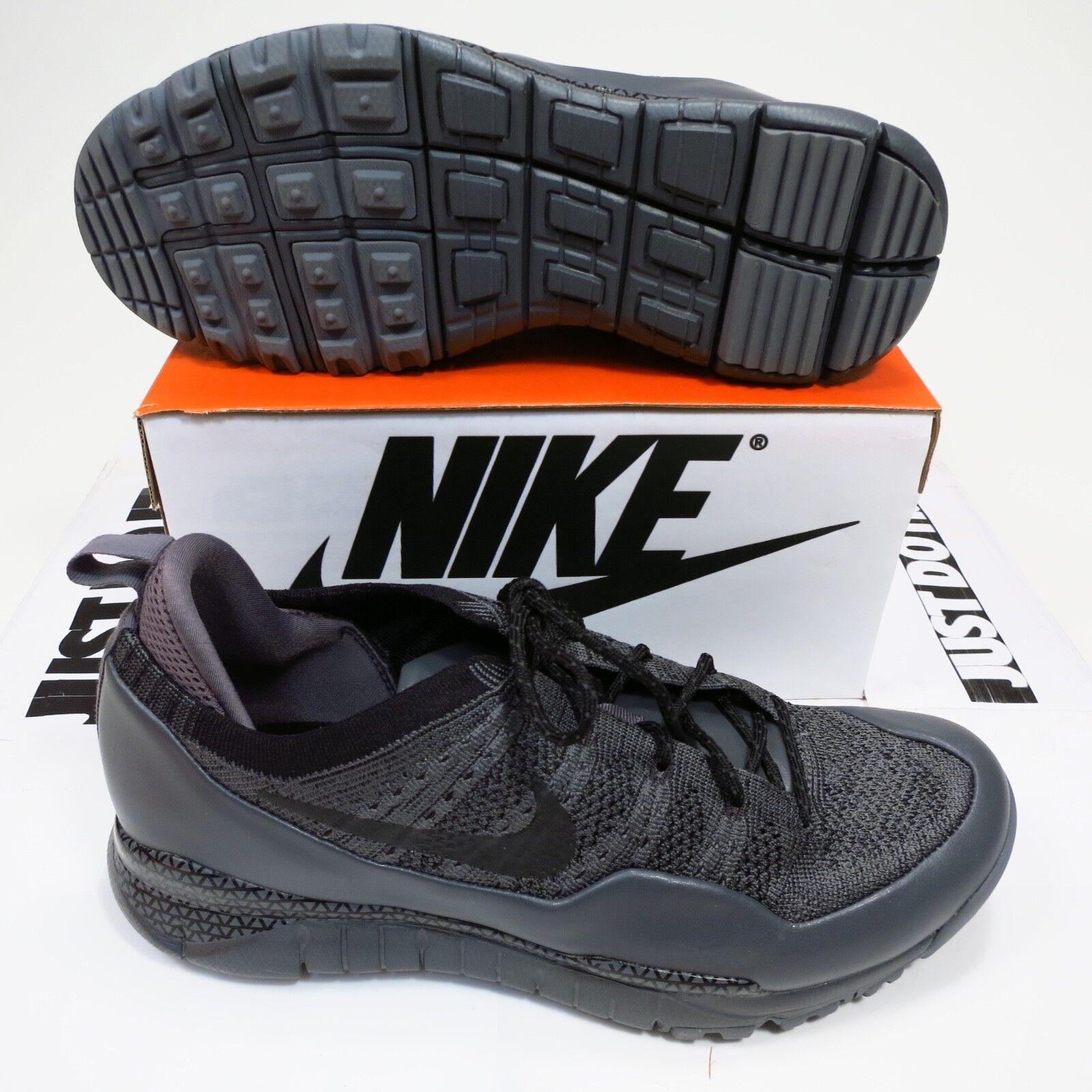 225 Men's Nike Lupinek Flyknit Low Size 11.5 Grey Style 882685 001 NEW