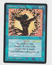 MTG Magic - Esplosione Magica Spell Blast - 1ª Ed. Italian Revised FBB - 1994
