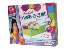 Make Your Own Quilt Patchwork Blanket Knotting Kit No Sewing Childrens Craft