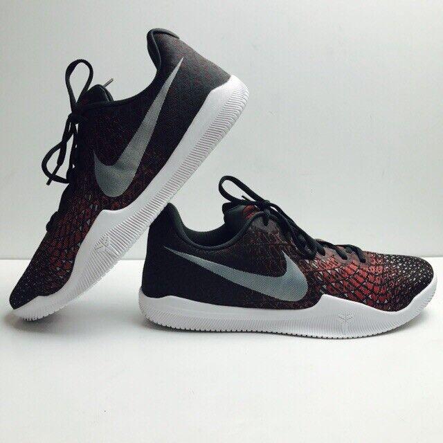 Nike Kobe Bryant Mamba Instinct Instinct Instinct Low Black Grey Red 852473-006 Mens Size 12 shoes f4b0bf