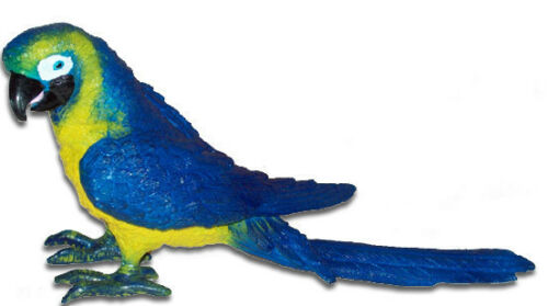 New in Package FREE SHIPPINGAAA 23201B Blue /& Yellow Macaw Parrot Toy Bird