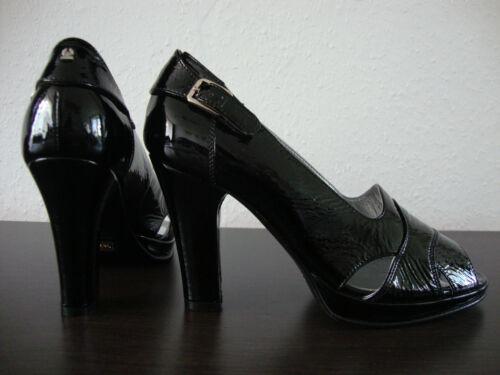 Lack Shoes Damen Schuhe Leder Belstaff Neu Gr Schwarz 36 Lady Pumps 6qXxXIw