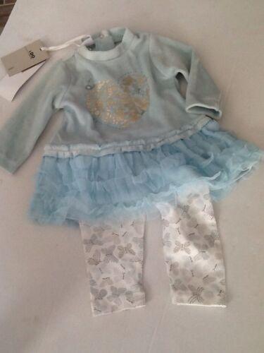BNWT iDo Girls Dress /& Legging 2 Piece Set Outfit N553
