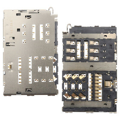 BisLinks for LG G6 H870 Nano Sim Micro SD Memory Card Reader Socket Connector H871 H872 Replacement Part