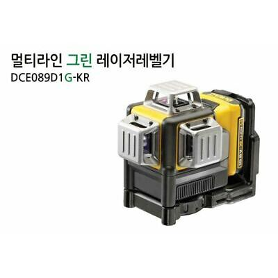 DeWALT DCE089D1G Leveling 3 X 360Cross Line Laser 10.8V Body Only Bare Tool