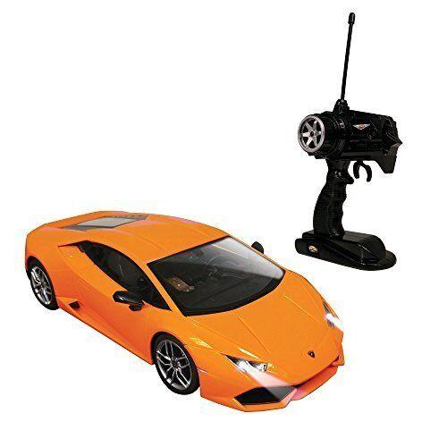 Doyusha 1/16 Big Scale RC Super Car Lamborghini U Lacan LP610-4 arancia 27MHz