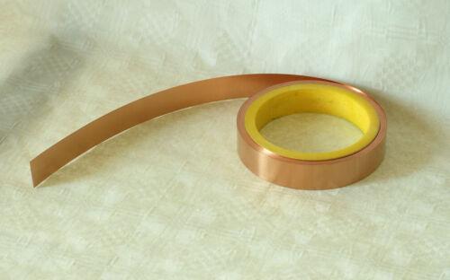 Kupferrolle Kupferfolie Kupferblech 0,035 x 5 mm verschiedene Längen