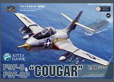 Kitty Hawk 1/48 F9F-8 & F9F-8P Cougar  #80127 #KH80127  *New*Sealed*