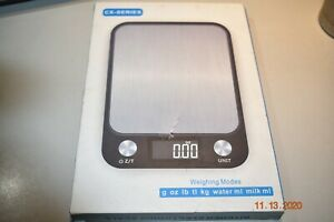 Digital Kitchen Scale 22lb//0.04 ounce 10KG//1G Slim Electronic Digital Food Scale