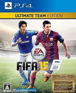 Used-PS4-FIFA-15-ULTIMATE-SONY-PLAYSTATION-4-JAPAN-JAPANESE-JAPONAIS-IMPORT