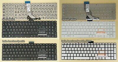 New For HP 15-bs007la 15-bs008la 15-bs009la keyboard Latin Spanish Teclado White