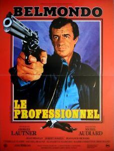 LE-PROFESSIONNEL-Affiche-Cinema-53x40-Movie-Poster-JEAN-PAUL-BELMONDO-R1990
