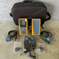Fluke Dtx 1200 Cable Tester Analyzer Cat6 Certifier Dtx1200