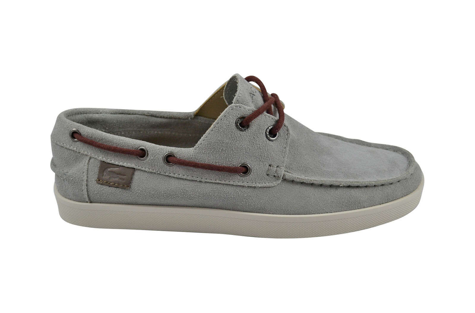 Lacoste Keellson 4 SRM grey Leder Schuhe/Sneaker grau Größenauswahl!!