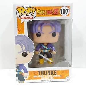 Dragon Ball Z Trunks Vinyl POP Anime Figure Toy #107 FUNKO DBZ MIB