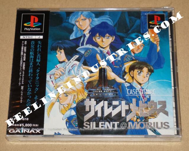 Gainax PSX Silent Mobius CASE: TITANIC [NTSC-J] PS1 Brand New Kia Asamiya
