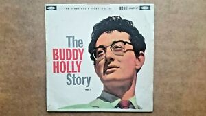 The-Buddy-Holly-Story-Volume-2-Vinyl-Record-LP-Coral-Records-1960