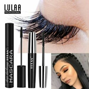 LULAA-2Pcs-Set-4D-Silk-Fiber-Lash-Mascara-Long-Black-Eyelash-Makeup-Eye-Lashes