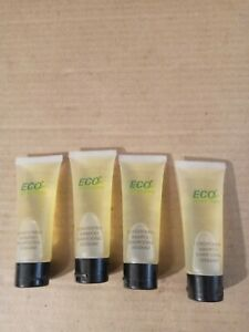 Lot of 4 ECO Amenities Conditioning Shampoo 1 oz Each Travel Sizes.