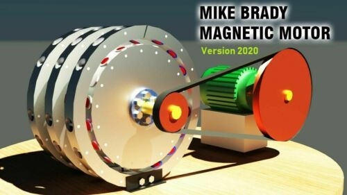 Mike Brady Magnetmotor Freie Energie 3D Modell STL STEP DWG3D Druck 2020