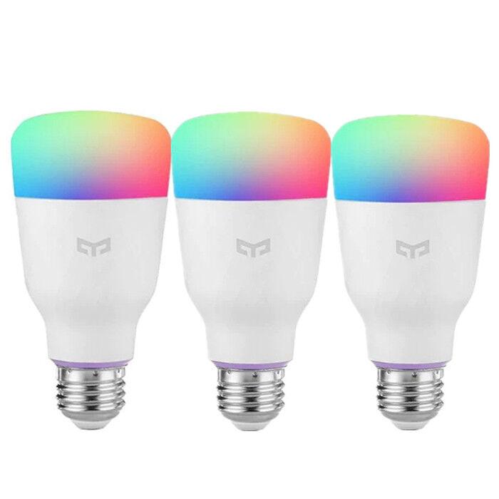 Xiaomi YEELIGHT 10W RGB E27 E26 Wireless WiFi APP Control Smart Light Bulb