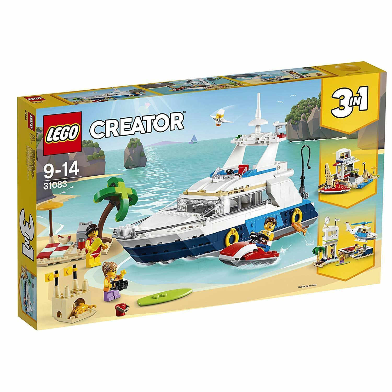 LEGO Creator Cruising Adventures 3-in-1 Model Building Kids Construction Playset
