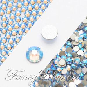 2058 /& 2088 Swarovski® Flatback Crystals Non Hotfix Air Blue Opal 2000