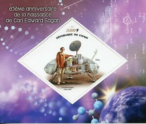 Space-Stamps-2019-MNH-Carl-Sagan-85th-Birth-Anniv-Planets-1v-S-S