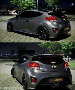 Sequence Devil Wing Rear Spoiler For Hyundai Veloster Turbo 2012