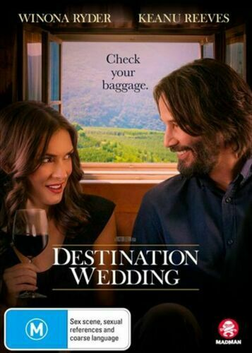 DESTINATION WEDDING DVD WINONA RYDER REGION 4 NEW AND SEALED