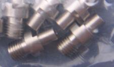 6 Revolver Nipples For #10 Caps- Pietta 1858, 1851,1860 Colt - Stainless Steel