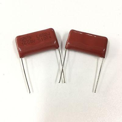 100pcs 1600V 682 J 0.0068uf 6.8nf 6800pf P15 CBB81 CBB metal film capacitor