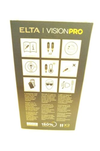 VISION PRO 150/% Plus Lumineux Phare Upgrades Twin Pack H1 H4 H7 H11 HiR2 3700K