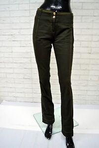 Pantalone-TRUSSARDI-JEANS-Donna-Taglia-Size-40-Jeans-Pants-Woman-Gamba-Dritta