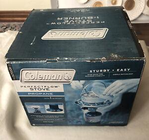 NIB 2012 Coleman Perfect-flow One Burner Propane Stove 5431B Series **Free S/H**