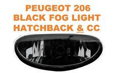 Peugeot 206 Hatchback & CC Rear Black Magic Lexus Fog Lights For Bumper