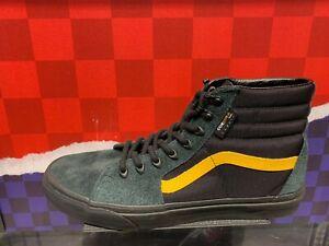 Vans X Cordura Sk8 Hi Pro Trainers Shoes in BlackYellow UK