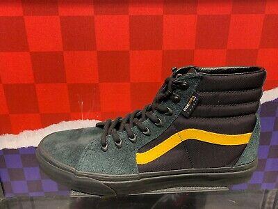 Vans SK8-Hi x Cordura Black Yellow Sz 7