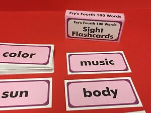 Fry-039-s-Fourth-Hundred-Words-Reading-Fry-Sight-Word-Flash-Cards-100-cards