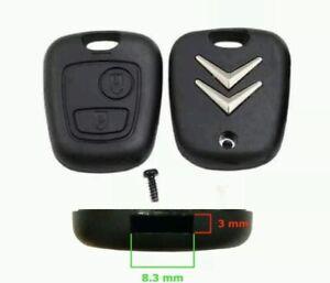 Chiave Guscio Cover Per Citroen C1 C2 C3 C4 C5 Xsara Saxo  Logo Citroen