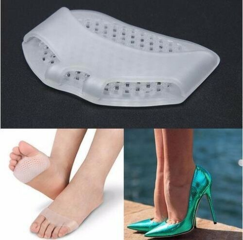 3pair Women High Heel Shoes Fore Sole Foot Protection Cushion Pad Breathable Pad