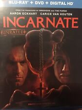 Incarnate Bluray Disc and Case 2017 Eckhart - No DVD or Digital Copy