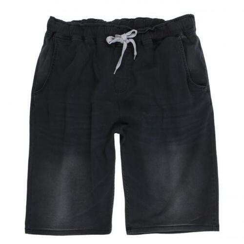 Jeans-Bermuda Shorts Pantaloni Estate Pantaloni Nero Taglia 3xl 4xl 5xl 6xl 7xl 8xl #2010