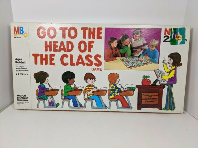 Go To The Head Of The Class Board Game Hasbro 2008 Good Complete For Sale Online Ebay