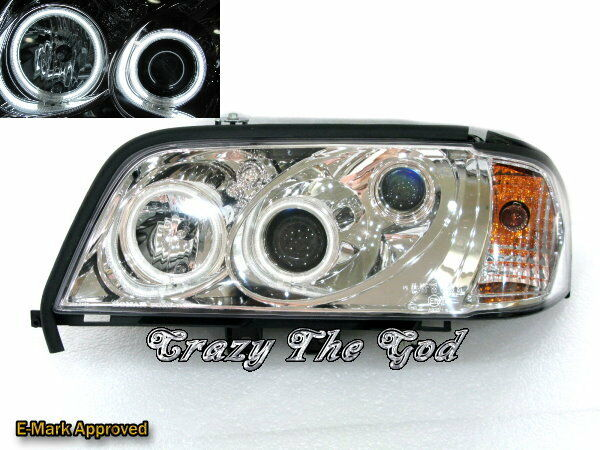W202 1994-2000 INT CCFL ANGEL EYES HEADLIGHT for Mercedes Benz