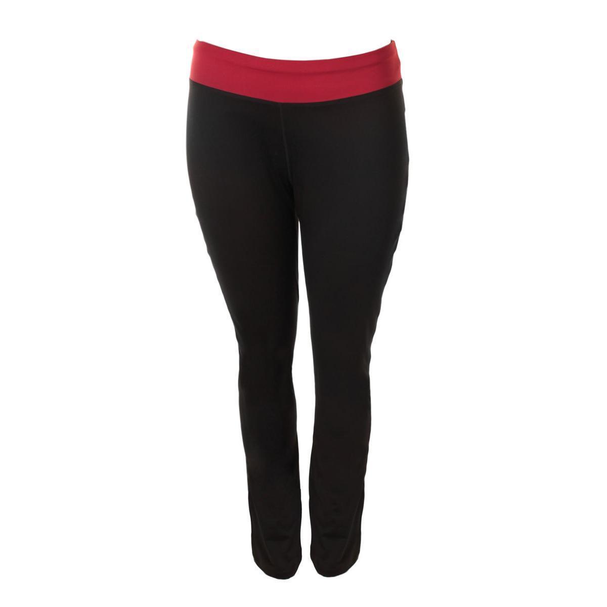 9e0800aab89 Taffy 8225 Womens Black Moisture Wicking Yoga Pants Athletic Plus 2x ...
