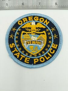 OREGON-State-Police-Law-Enforcement-Patch-Vintage-from-never-sewn-collection-3-034