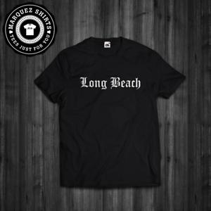 09b2a1b6 Details about T-Shirt Long Beach California Snoop Dogg Straight Outta  Compton Hip Hop Tee